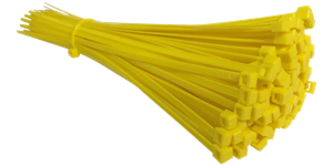 Cable Ties Yellow