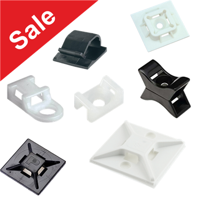 Cable Tie Bases, Mounts & Fixings