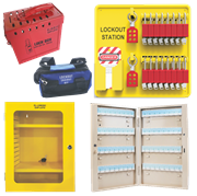 Lockout Stations, Boxes and Cabinets