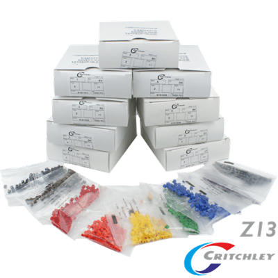 Z-Type Colour Coded Markers Boxes Z13