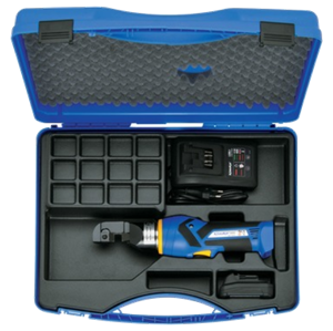 EBS12ML supplied with battery, charger and case