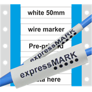 PP-ETM-9 Pre-printed wire marker 50mm