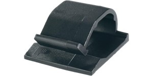 Panduit ACC Adhesive Backed Cable Clip SKU Black