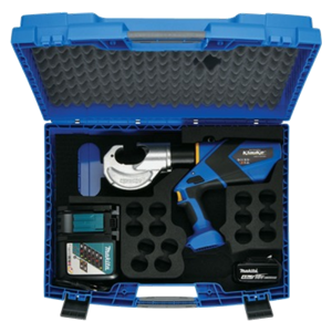 EK12032CFM supplied with Makita battery, charger and case
