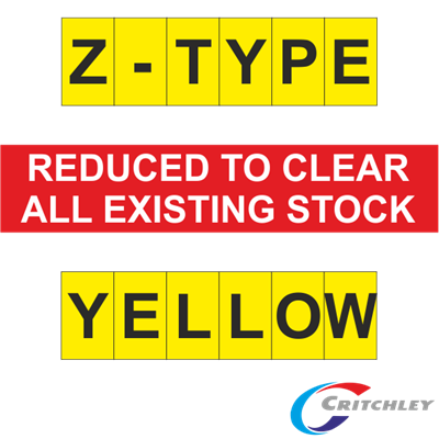 Critchley Z-Type Yellow Markers