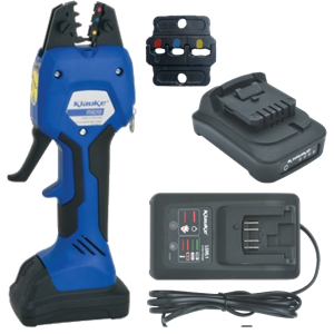 EK50ML supplied with battery, charger and die