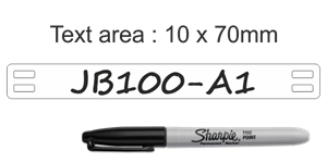 HL104WE1NF070B Cable Label