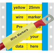 PP-ETM-4 Pre-printed wire marker 25mm