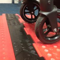 Black Line Low Profile Wheelchair Ramps