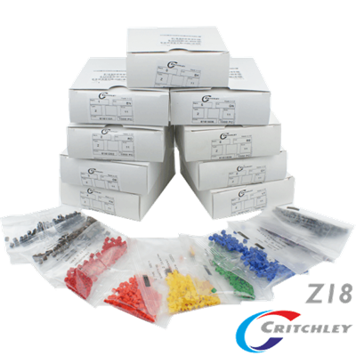 Z-Type Colour Coded Markers Boxes Z18