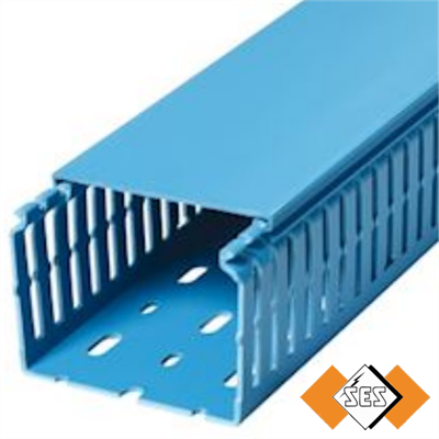 GN A6 4 LF Blue Panel Trunking