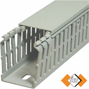 GN A6 4 LF Grey Panel Trunking