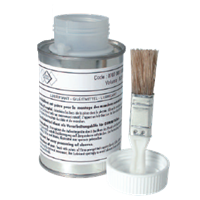 LUB2 lubriant can and cap with brush