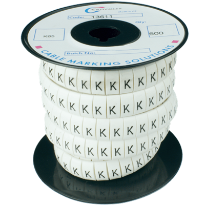 K-Type Markers Black on White