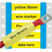PP-ETM-4 Pre-printed wire marker 50mm