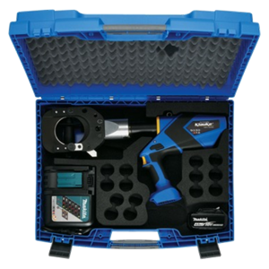 ESG85CFM supplied with Makita battery, charger and case