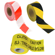 Warning & Barrier Tapes