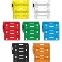 ETC Ladder Format Tie-on Cable Marker Colour Options