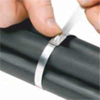 Panduit Uncoated SS Cable Ties Application