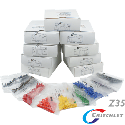 Z-Type Colour Coded Markers Boxes Z35