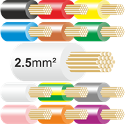 2.5mm Tri Rated