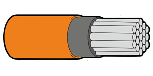 Type 44A Primary Wire 24AWG Orange
