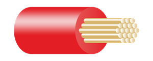Type BR Panel Wire Red