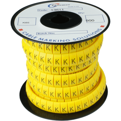 K-Type Markers Black on Yellow