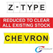 Critchley Z-Type Chevron Cut Markers
