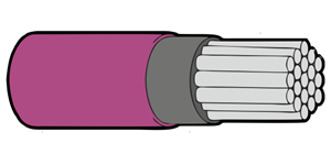 Type 44A Primary Wire 22AWG Violet