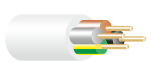 3184Y Cable White