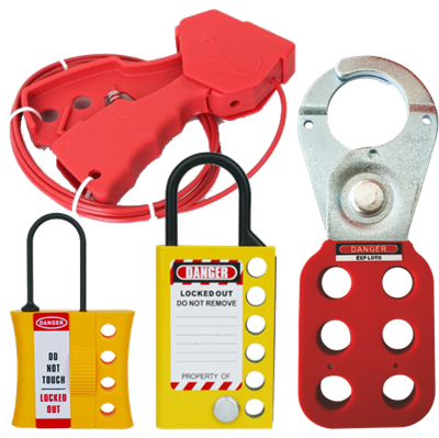 Safety Lockout Hasps & Cables