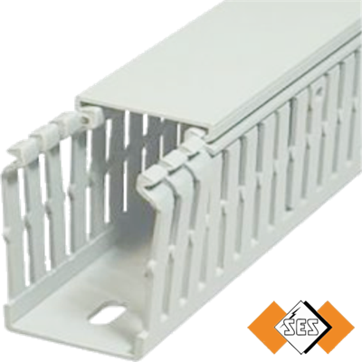 GN HF A6 4 Grey Panel Trunking
