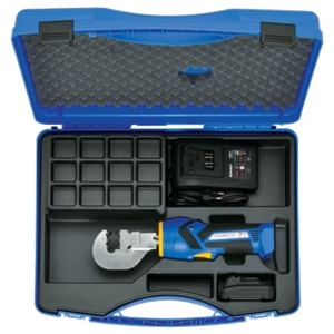 EK1550ML supplied with battery, charger and case