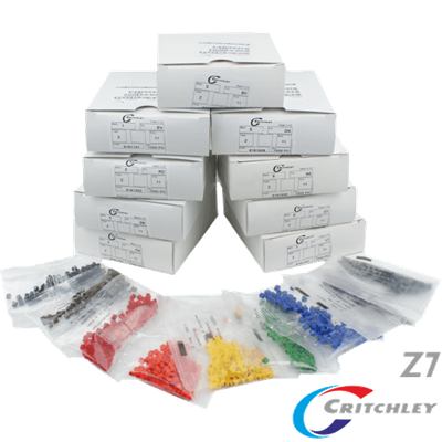 Z-Type Colour Coded Markers Boxes Z7
