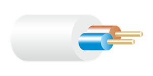 3182Y Cable White